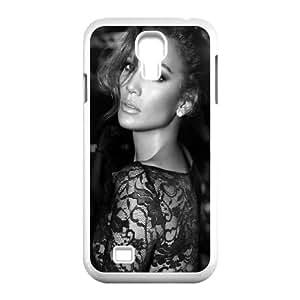 Samsung Galaxy S4 9500 Cell Phone Case White_Jennifer Lopez Black And White Fetzc