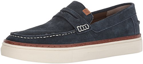 Hush Puppies Mens Stream Arrowood Boat Shoe Navy