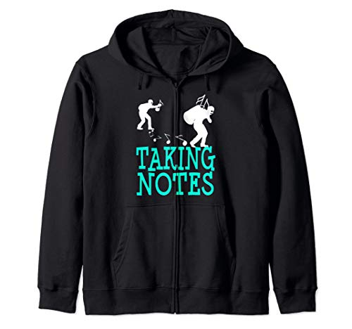 Music Composer Conductor Marching Band Orchestra Funny Gift Zip Hoodie