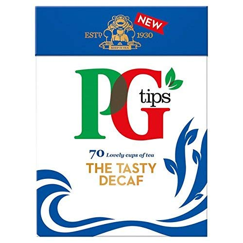 Decaf Bags Tea Pg Tips - PG Tips Decaf 70 Ct Tea Bags - 4 Pack