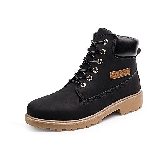 Boots Travail Casual De Taille Noires Chaussures 9 New Mens 8 Lacets Pied 10 Sine90 Tennis SEwzq7tII