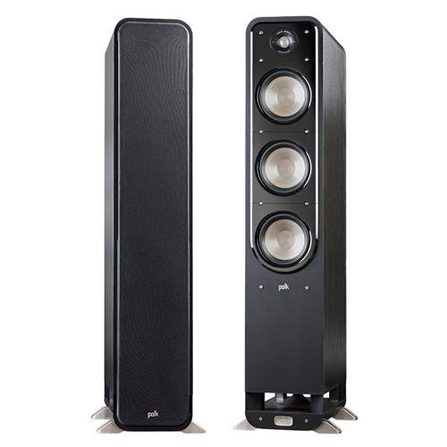 Polk Audio 2X Signature Series S60 Large 2-Way American HiFi Home Theater Tower Speaker (2 Speakers)