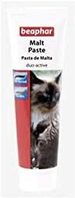 Beaphar BEA12947 Pasta de Malta - 100 gr: Amazon.es: Productos para mascotas