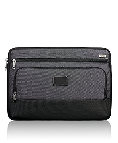 Tumi Alpha Large Cover Laptop Bag, Pewter, One Size