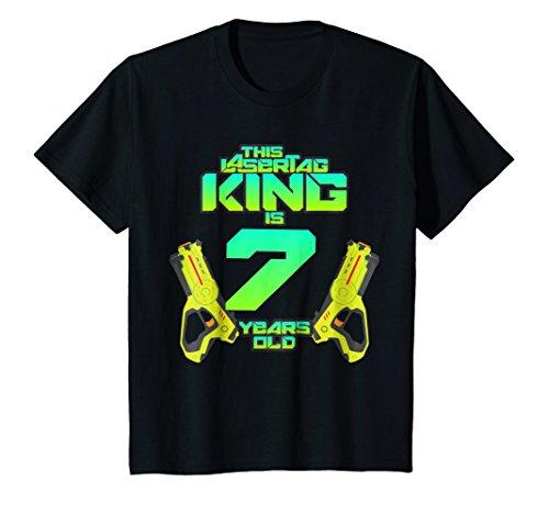 Kids Lasertag King Is 7 Years Old Birthday
