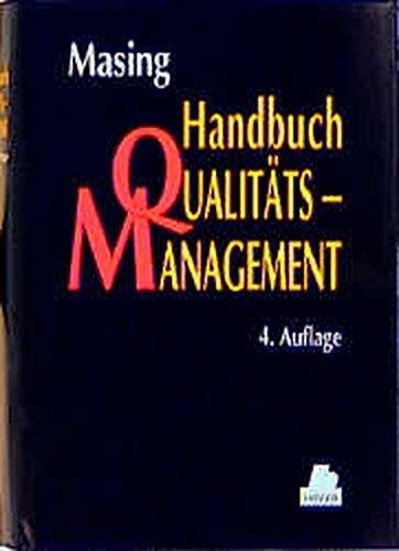 Handbuch Qualitätsmanagement