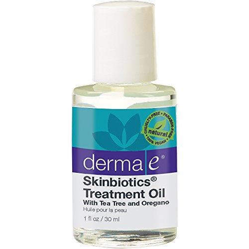 derma e Skinbiotics Treatment Oil with Tea Tree and Oregano Oils 1 oz