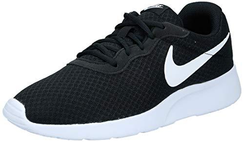 Nike Men's Tanjun Running Sneaker Black/White 10.5