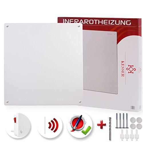 Kesser® Infrarot Wandheizung Flachheizung Heizgerät Heizkörper Heizpaneel 425 W Premium