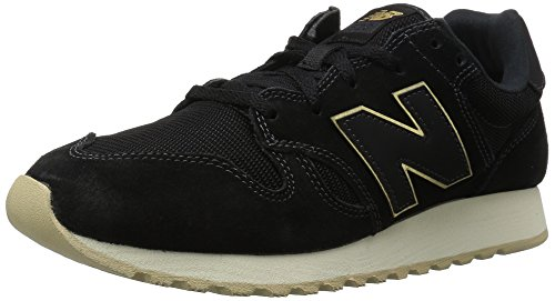 New Balance Women's Wl520 Track and Field Shoes Black DaPnFM