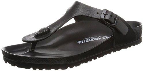 Eva Fit Pant - Birkenstock Essentials Unisex Gizeh EVA Sandals Black 42 R EU (US Men's 9-9.5)