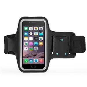 Brazalete deportivo para iPhone 6S/iPhone 6plug para deportes, correr, correr, caminar, senderismo, entrenamiento y Ejercicio, Sweat-Free neopreno de gran calidad con ranuras de auriculares y Clave