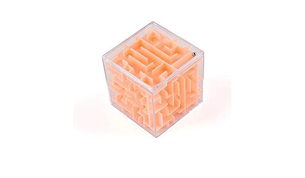 73JohnPol Cubo de rotación de Bola de Laberinto 3D Cubo de Rompecabezas de Velocidad Profesional con Pegatinas Niños Rompecabezas Cubo Magico Toys, Colorido: Amazon.es: Juguetes y juegos