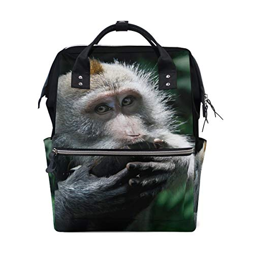 Animal Monkey Nature Diaper Backpack Bags Personalized for sale  Delivered anywhere in USA