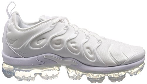 White 001 Zapatillas para Hombre NIKE Vapormax Platinum White Pure Blanco Plus Air qwHWa6