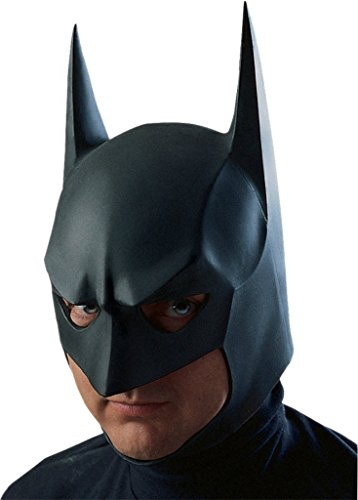 Batman Dark Knight Rises Overhead Sculpted Superhero Adult Halloween Mask