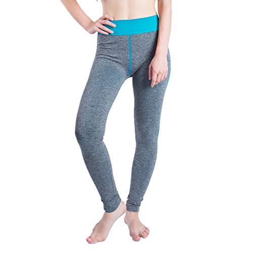 SOMESUN Noir Rose Bleu Ciel Orange Vert Femmes Gym Yoga Patchwork Sports Running Fitness Leggings Pantalon AthlTique Pantalons SerrS pour Costume Sport SChage Rapide Sportswear Bleu Ciel
