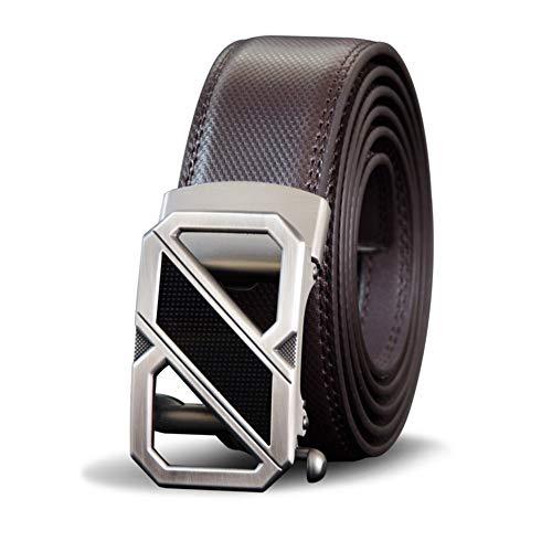 Lllm maschile in uomo Cintura centimetri cinturino Cinture automatica centimetri per 125 Business pelle fibbia Fashion 120 Metallo fcdWvH7W