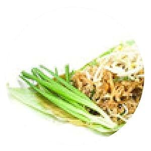 alfombrilla de ratón Padthai es comida tailandesa - ronda - 20cm