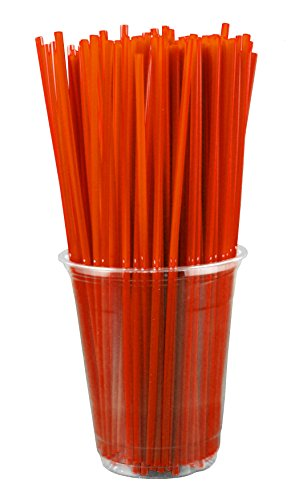 Collins Straws - RED (Box of 500)