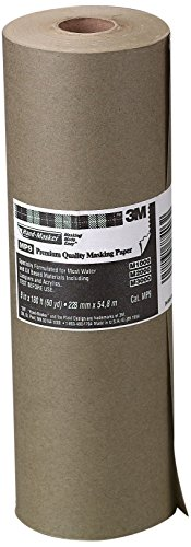 3M 3M Hand-Masker Premium Quality Masking Paper, 9-Inch x 60-Yard