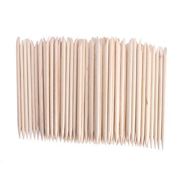 JOVANA 10000 pcs Nail Art Orange Wood Sticks Cuticle Pusher Remover Manicure Pedicure Tool 120mm by JOVANA (Image #1)