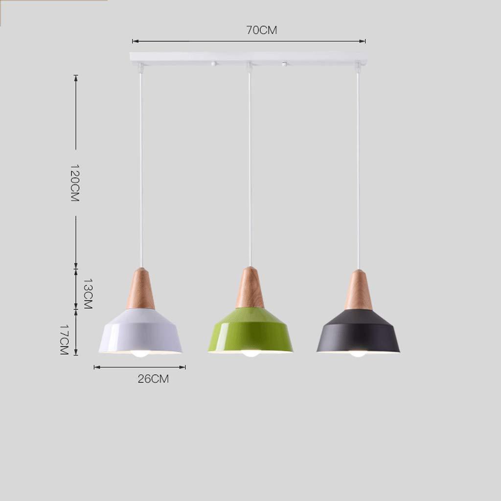 Color : Group A GJ L/ámpara de Mesa de Comedor de una Sola Cabeza Macaron Candy Colors L/ámpara de Mesa de combinaci/ón GJV