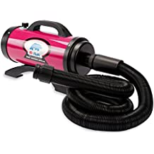 B-Air Dryers BA-BPS-II-PK Pro Series II 8 HP Dryer Pet Shower and Bath Supplies, Large, Pink