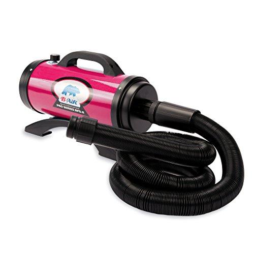 B-Air Dryers BA-BPS-II-PK Pro Series II 8 HP Dryer Pet Shower and Bath Supplies, Large, Pink