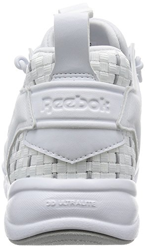 Black Grey Furylite New solid Blanc Reebok Woven white X6wpt6q