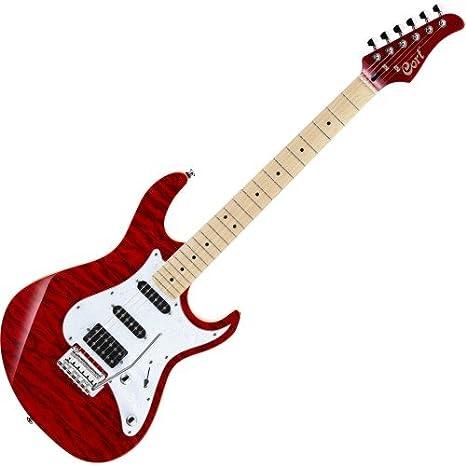 Cort g 250dx tr Guitarra eléctrica: Amazon.es: Instrumentos musicales