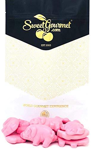 SweetGourmet Gustaf's Gummy Pink Pigs, 16 Oz]()