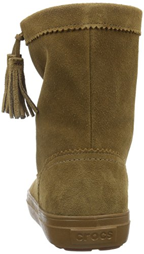 Femme Crocs Souples Suede Pullon hazelnut Bottes Marron Boot Lodgepoint FYFB4A