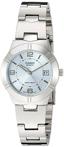 Casio Womens CLASSIC Stainless Silver Toned
