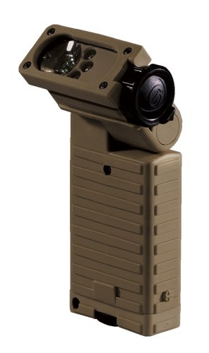 Streamlight Sidewinder Tactical Flashlight - Streamlight 14001 Sidewinder Tactical Flashlight - IR LED, Coyote