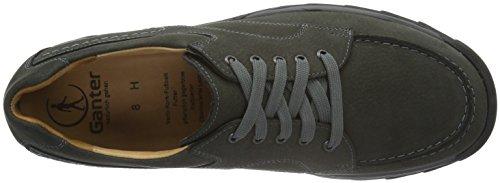 Ganter HENRY, Weite H - Zapatos Derby para hombre Gris - Grau (graphit 6300)