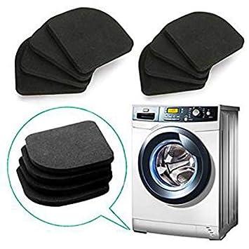 8 almohadillas de goma EVA antivibración para lavadora y secadora ...