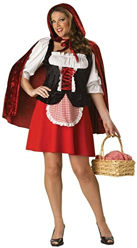 Little Red Riding Hood Adult Costume - Plus Size 2X -
