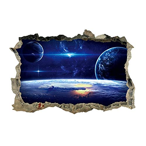 Sensual Art - 3d Cosmic Gemini Home Wall Ceiling Sticker Galaxy Poster Stars Popular Decoration Sd Jq - Always Baby Hello Jungle Wife Dots Ocean Live Rainbow Clock Educational Rabbit Scripture