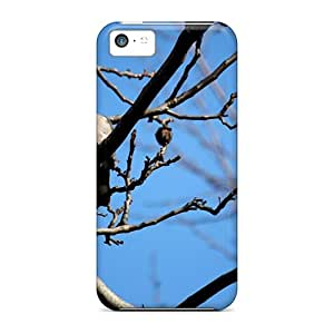 For Iphone 5c Fashion Design Lonely Pigeon Cases-pzL43078ARht