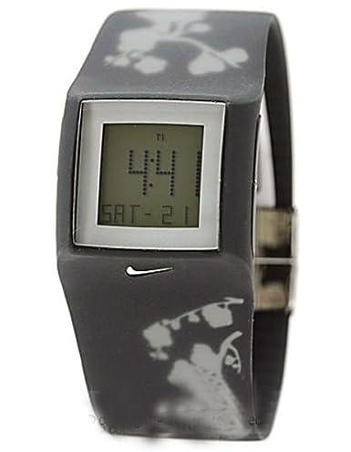 Nike Reloj Mujer de Digital con Correa en Caucho WC0050009: Nike: Amazon.es: Relojes