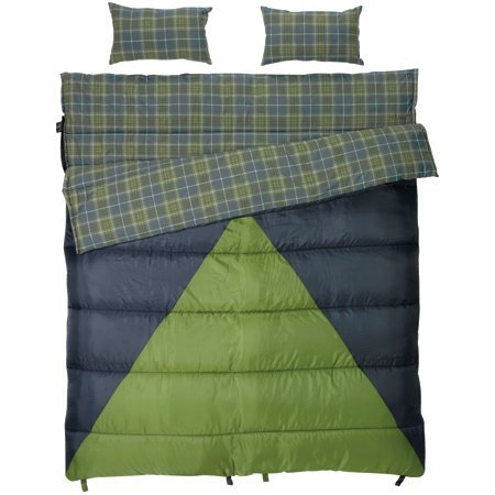 Slumberjack Bonnie and Clyde 30 to 40 Degree Sleeping Bag, Outdoor Stuffs