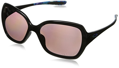 Oakley Women's Overtime OO9167-17 Polarized Square Sunglasses,Polished Black,59 - The Oakley Over Tops