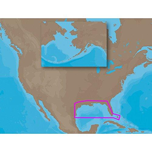 C-MAP NT+ NA-C405 - Gulf of Mexico OCS Block Char - C-Card