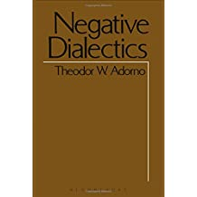 Negative Dialectics (Negative Dialectics Ppr)