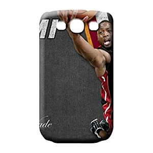 samsung galaxy s3 Ultra Slim Fit High Quality cell phone carrying covers miami heat nba basketball