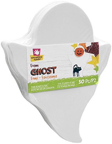 Creative Hands Foam Shape Stack Ghost Decorations