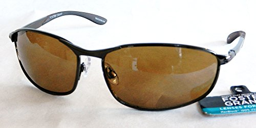 Foster Grant DRIVERS Sunglasses (906) 100% UVA & UVB Protection + FREE BONUS MICROSUEDE CLEANING - Sunglasses Ray Ban Driving