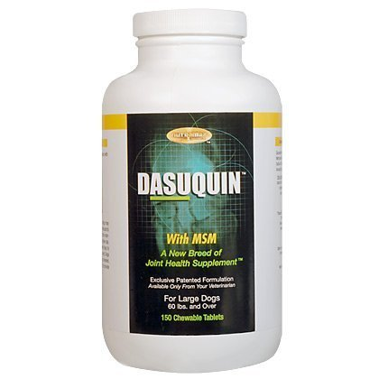 Nutramax Dasuquin with MSM for Large Dogs - 150 Tablets. Supplment, Vitamins, Chewable, Food