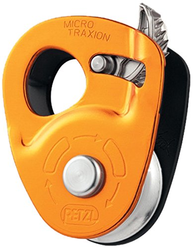 Petzl Micro Traxion Ultralight Progress Capture Pulley - Petzl Pulley